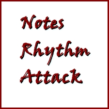 Notes, Rhythm, Attack